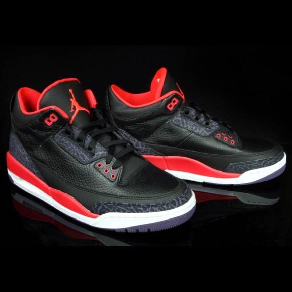 Air Jordan 3 Retro Crimson | Poshmark
